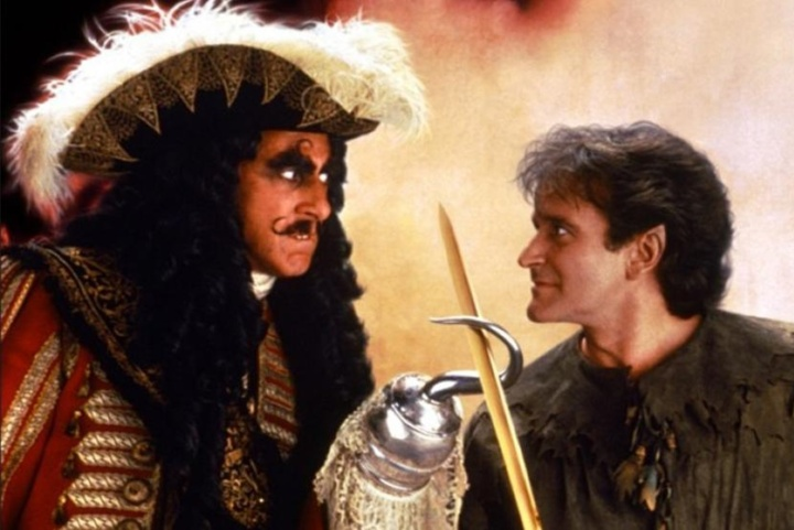 Hook-El capitan Garfio-pelicula-superpeque