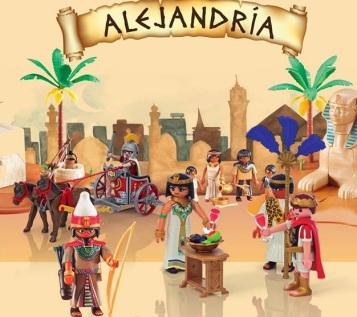 alejandria Madrid con niños, dragones y unicornios